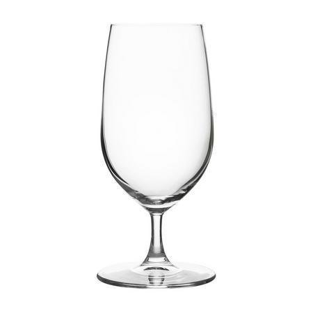 Diamond Crystal Beer Glasses Set of 2 Clear