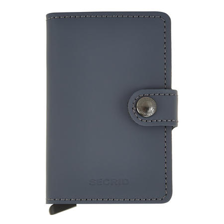 Card Protector Wallet Matte Grey