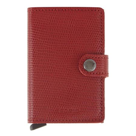 Rango Card Protector Wallet Red
