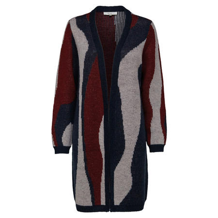 Sina Printed Knit Cardigan Multicolour