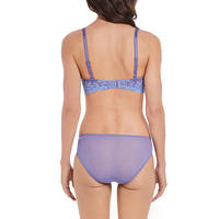 Embrace Lace Full Cup Bra Purple