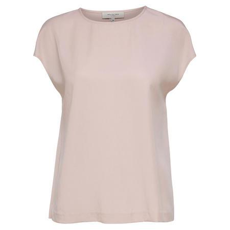 Zoe Cap Sleeve T-Shirt Pink