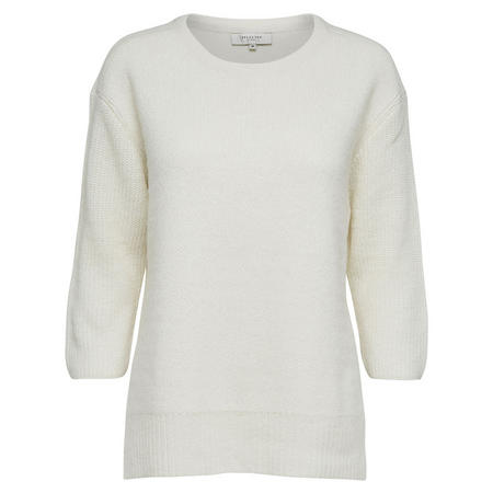 Koko Knitted Sweater White