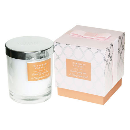 Luxury Earl Grey Tea and Tangerine Candle