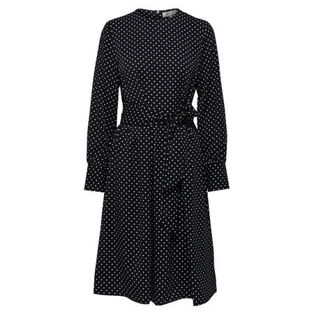 Millado Polka Dot Dress Black