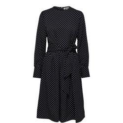 Millado Polka Dot Dress Black