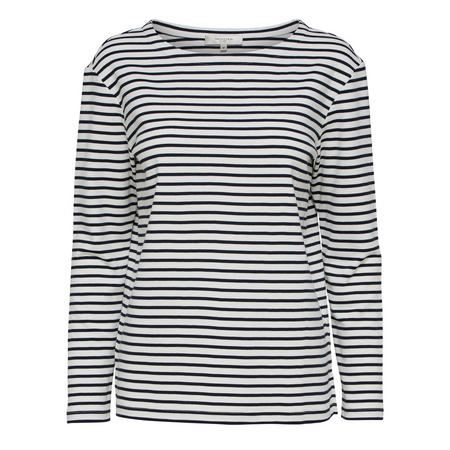 Ava Striped Long Sleeve Top Multicolour