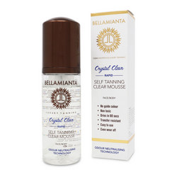 Crystal Clear Rapid Self-Tanning Mousse
