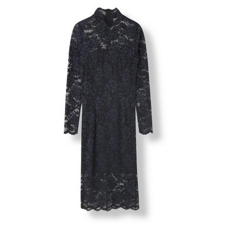Flynn Lace Dress Black
