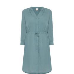 Damina Tie Dress Green