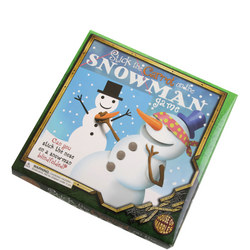 Stick The Carrot on the Snowman