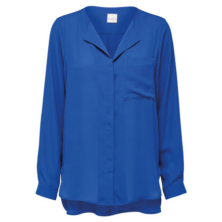Dynella Shirt Blouse Blue