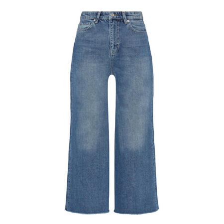 Carry Wide Leg Jeans Blue