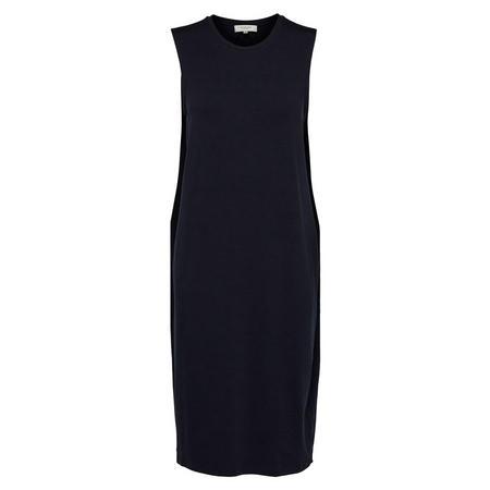 Coco Sleeveless Jersey Dress Navy