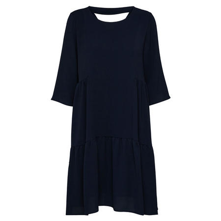 Svenja Long Sleeve Shift Dress Blue