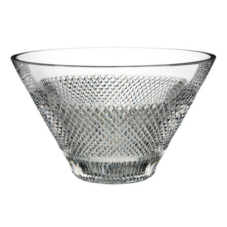 Diamond Line Bowl 25cm Clear