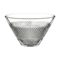 Diamond Line Bowl 20cm Clear