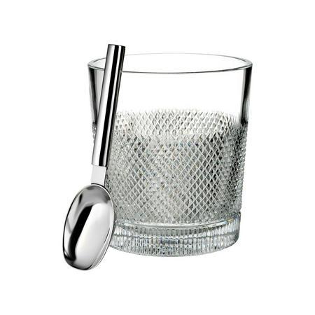Diamond Line Ice Bucket Clear
