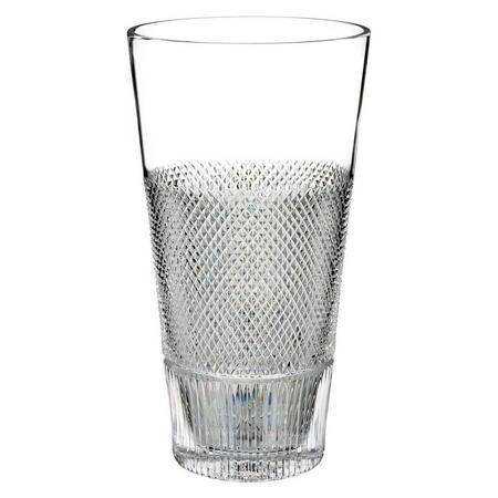 Diamond Line Vase 30cm Clear