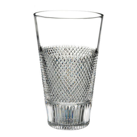 Diamond Line Vase 20cm Clear