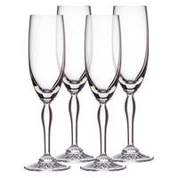 Marquis Power Ventura Flute Set of 4 Clear