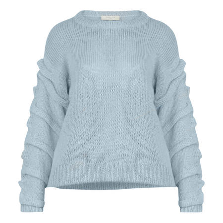 Olivia Knitted Jumper Blue