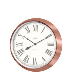 Belmont Clock Metallic