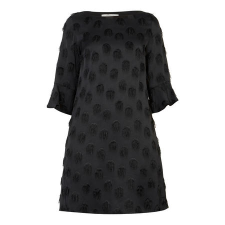 Puglia Jacquard Dress Black