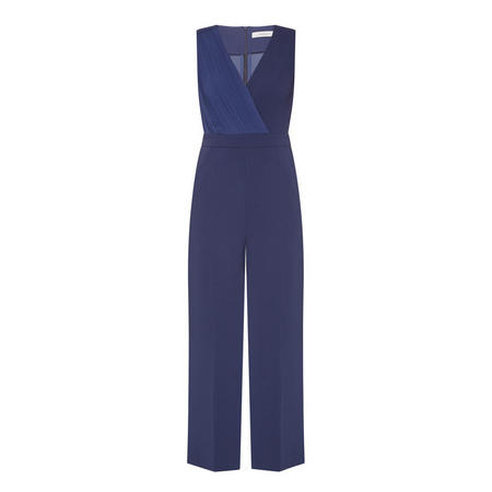 Tailored Jumpsuit Navy Blue