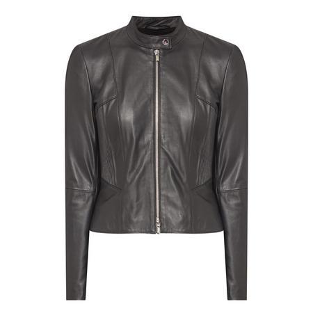 Lenina Leather Jacket Black