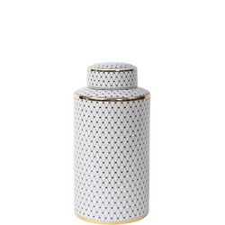 Ceramic Jar With Gold Detail