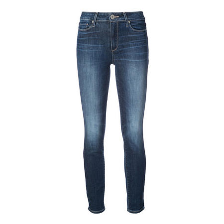 Hoxton Ankle Super Skinny Jeans Blue