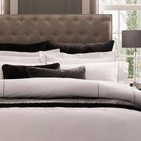 Satin Stitch Housewife Pillowcase White