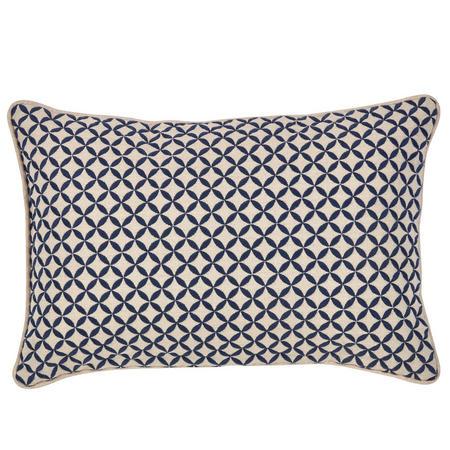Penzance Cushion Navy 30 x 45cm