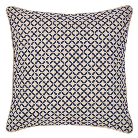 Penzance Cushion Navy 45 x 45cm