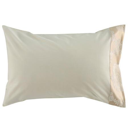 Romeo Standard Pillowcase Pair Cream