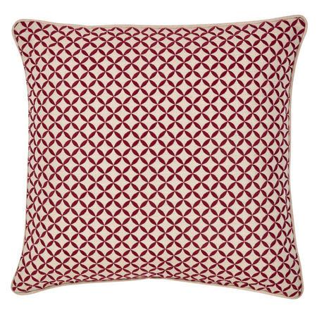 Penzance Cushion Red