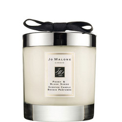Peony & Blush Suede Home Candle