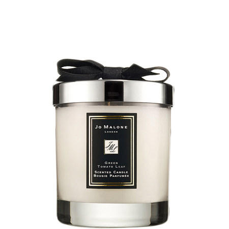 Green Tomato Leaf Home Candle