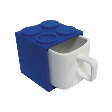 Cube Mugs Mini Blue
