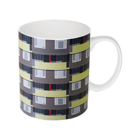 Oscar Francis Spa Green Estate Mug