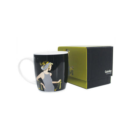 Bone China Boxed Mug Spirit Gatsby Girl Multicolour