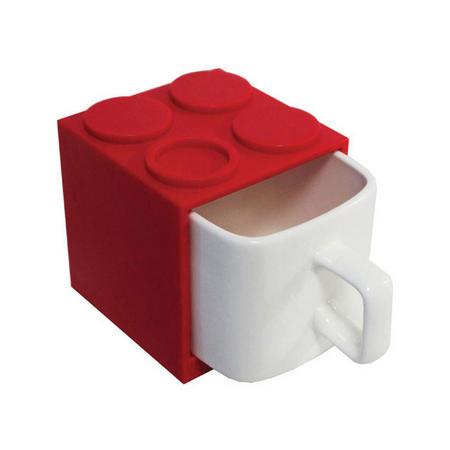 Cube Mugs Mini Red