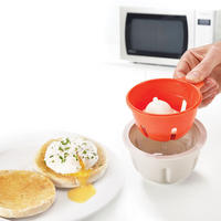 Single Microwave Egg Poacher