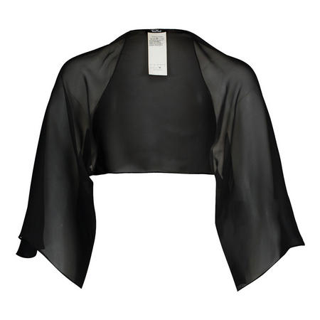 Draped Wrap Black
