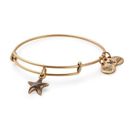 Starfish Charm Bangle