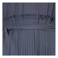 Cammeo Pleated Dress Navy