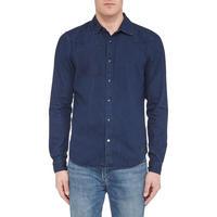 Raw Stitch Shirt Navy