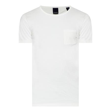One Pocket T-Shirt White