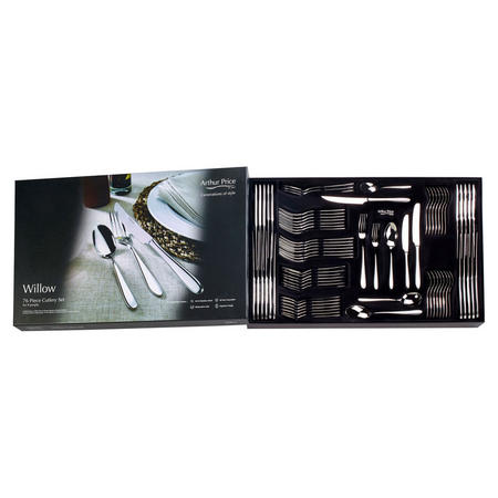 Willow 76 Pce Cutlery Box Set